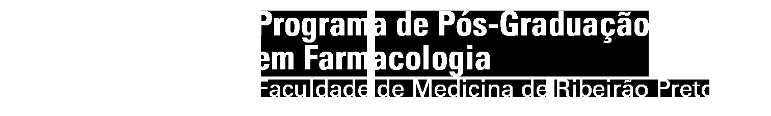 Programa de Pós-graduação em Farmacologia
